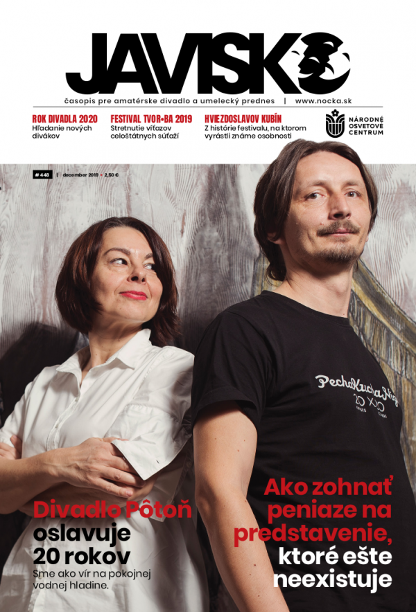 Časopis Javisko, č. 2019/december - titulka
