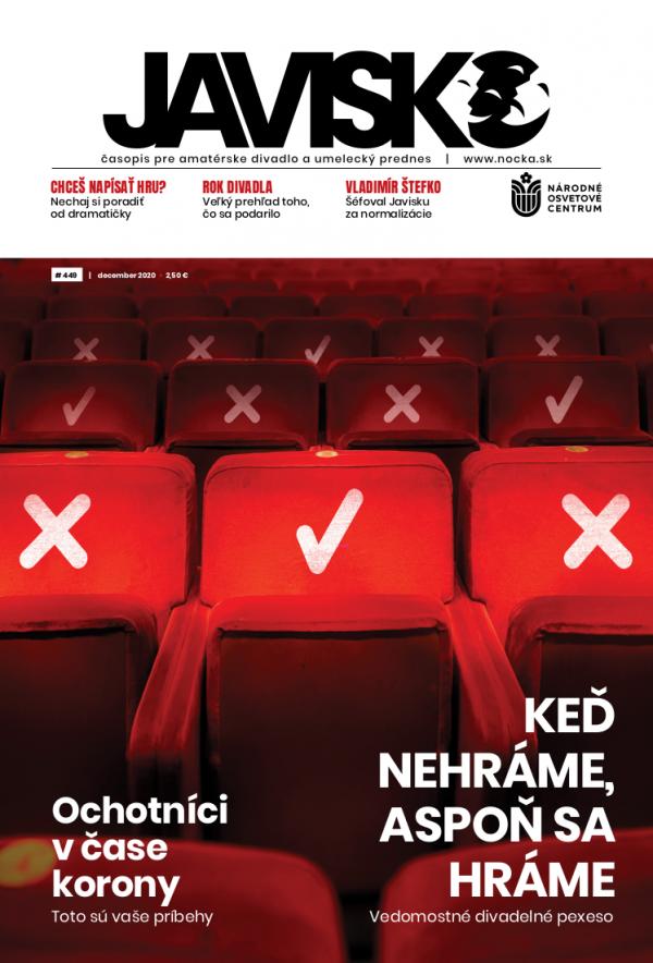 Časopis Javisko, č. 2020/december - titulka