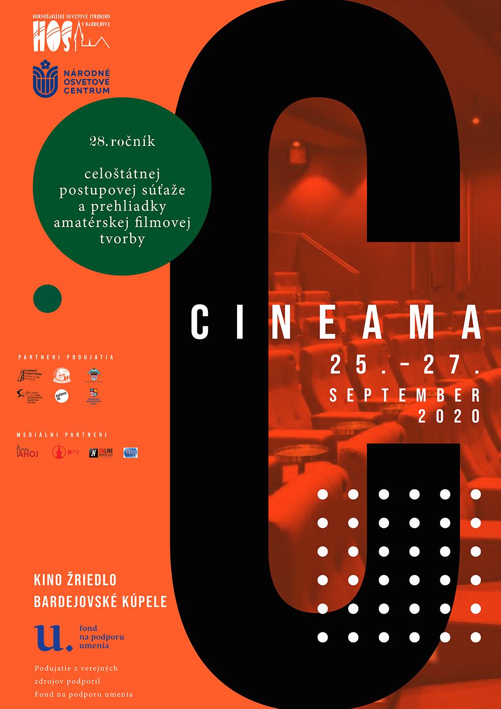 CINEAMA 2020 - plagát
